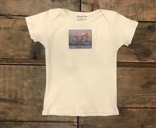 Bamboo Bike (bicycle) Certified Organic Cotton Toddler T 18-24 Months