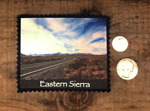 Eastern Sierra  Road Trip Sew On Patch