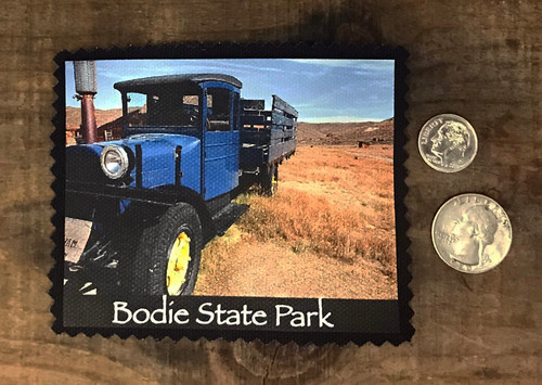 Blue Truck Bodie State Park Sew On Patch