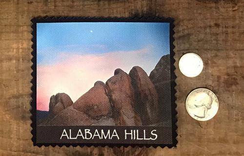 Alabama Hills Moonrise #901 Sew On Patch
