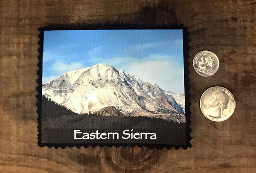 Eastern Sierra Snow Covered Mountain #825 Patch