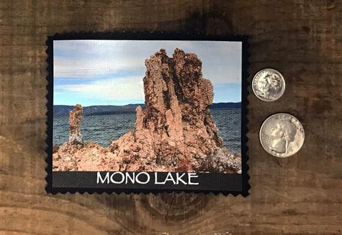 Mono Lake Tufa #829 Sew On Patch
