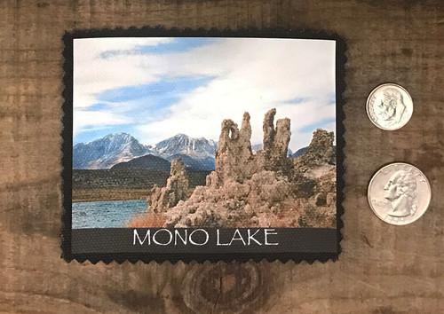 Mono Lake with Eastern Sierra Mountain Range #832 Patch