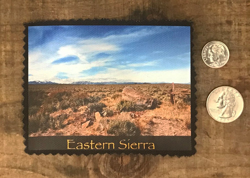 Eastern Sierra #824 Sew On Patch