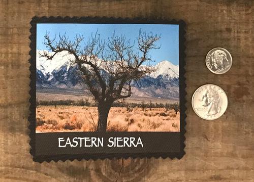 Eastern Sierra Tree Manzanar #932 Sew On Patch