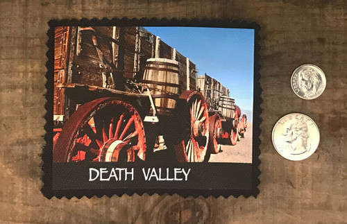 20 Mule Team Wagon Death Valley National Park Patch