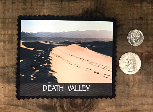 Death Valley National Park Mesquite Dunes #922 Sew On Patch