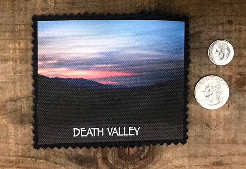 Death Valley National Park Sunset #921 Sew on Patch