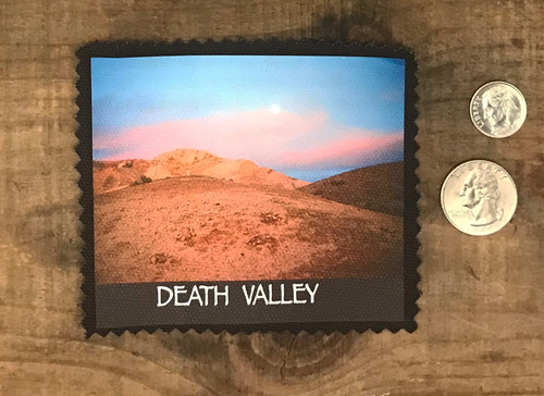 Death Valley National Park Texas Spring Sunset #926 Sew On Patch