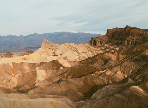 Zabriskie Point #927 Death Valley National Park Greeting Card