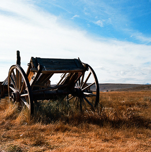 Wagon #816 Bodie State Park Greeting Card