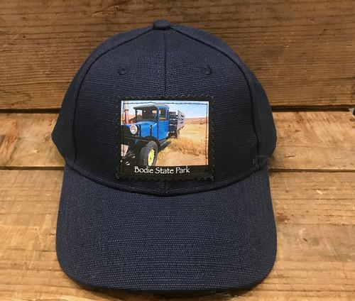 Blue Truck Bodie State Park Hemp Baseball Hat