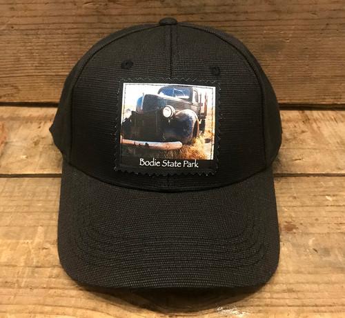 Green Truck (old truck) Bodie State Park Hemp Baseball Hat