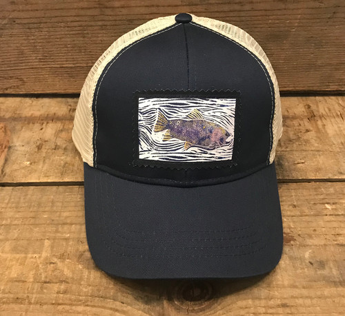 Fish Organic Cotton/Recycled Polyester Keep on Truckin' Trucker Hat