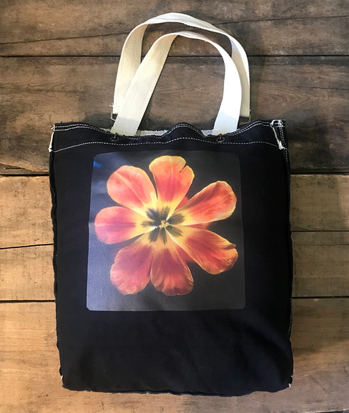 Groovy Tulip Cotton Girly Tote/Purse