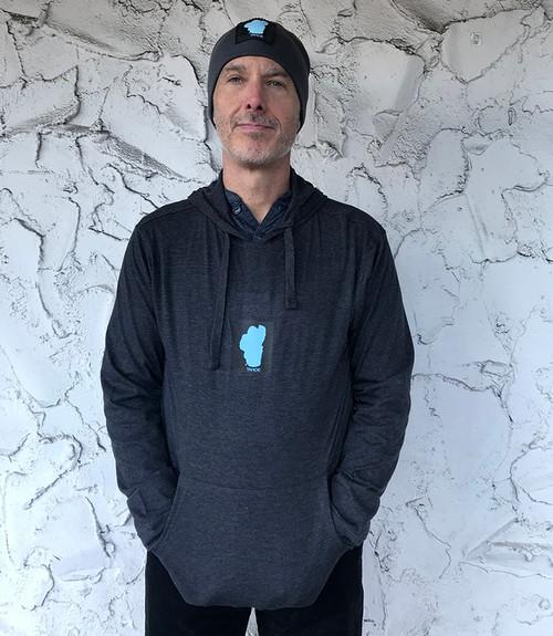 Lake Tahoe Unisex Organic Cotton/Recycled Polyester Lightweight Hoodie