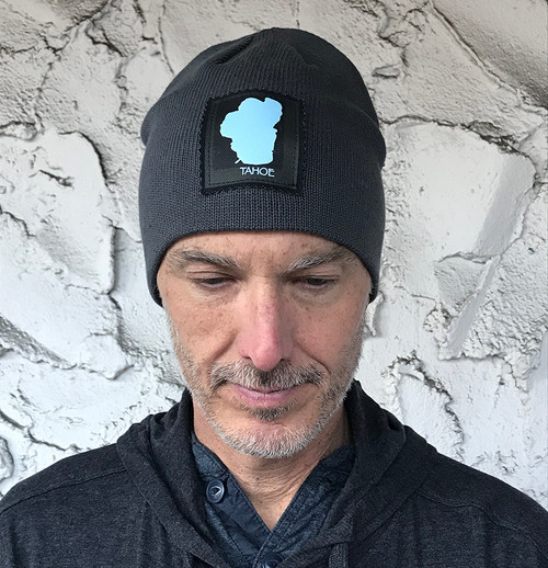 Lake Tahoe Organic Cotton Beanie Hat