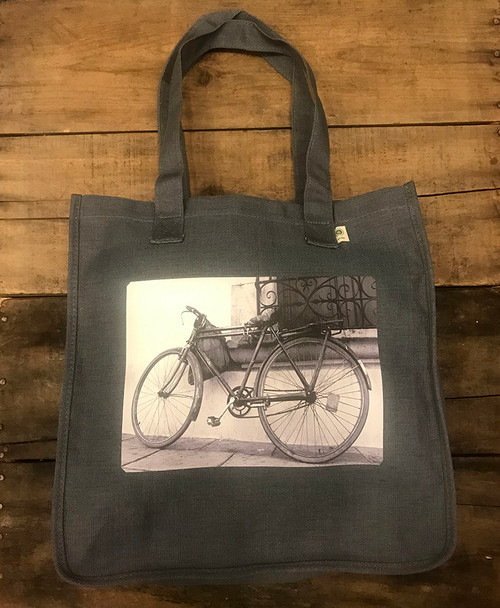 Bike Hemp Tote