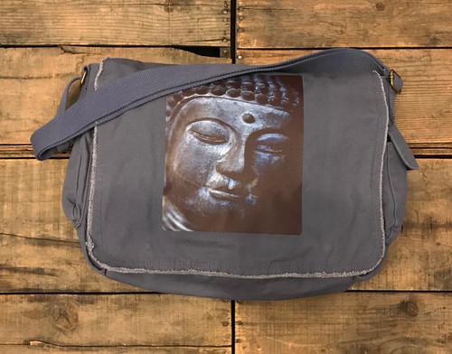 Buddha's Face, Messenger Bag