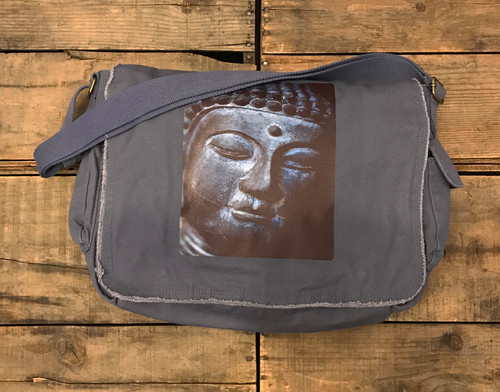 Buddha's Face, Messenger Bag