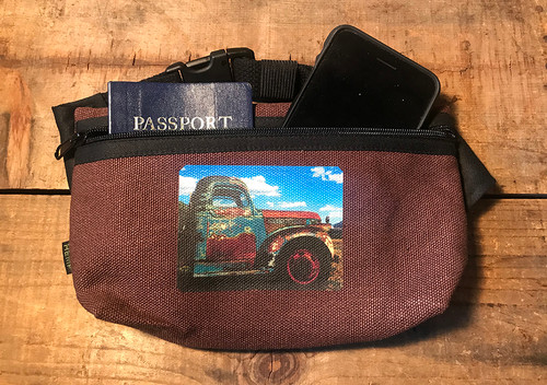 Truck in Taos Hemp Hip Pack & Cross Body