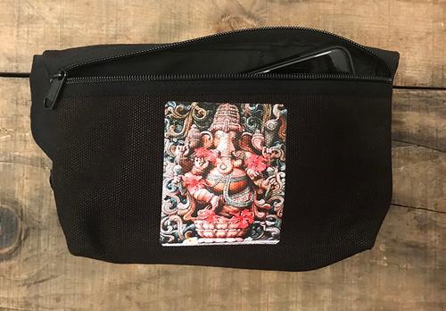 Ganesh Hindu God Hemp Hip Pack & Cross Body Bag