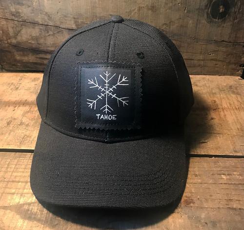 Snowflake Tahoe (Block Print) Hemp Baseball Hat