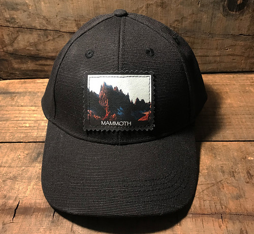 Minarets Mammoth California Hemp Baseball Hat