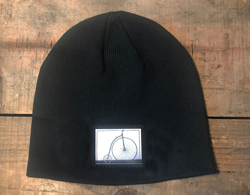 Bike Penny Farthing (bicycle) Organic Cotton Cotton Beanie Hat