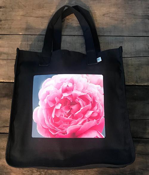 Pink Rose Hemp Tote