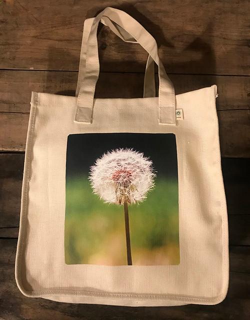 Make a Wish (Dandelion) Hemp Tote