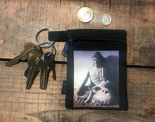Buddha Hemp Key Coin Purse/Pouch