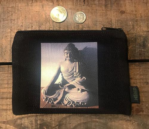 Buddha Medium & Large Hemp Coin Purse/Pouch