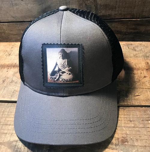 Buddha Keep on Truckin' Organic Cotton/Recycled Polyester Trucker Hat