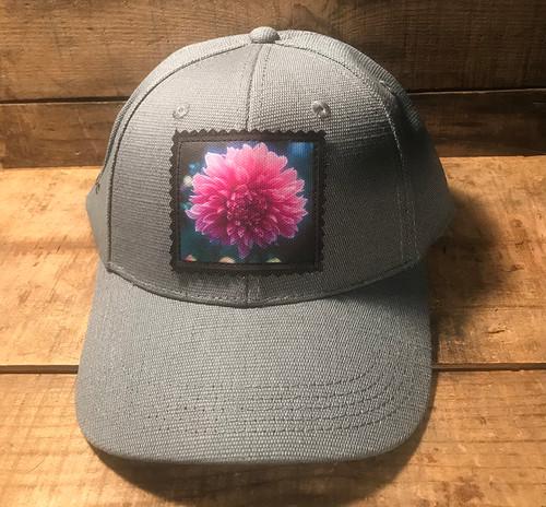 Amanda's Dahlia Hemp Baseball Hat