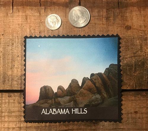 Alabama Hills Moonrise  #900 Sewn On Patch