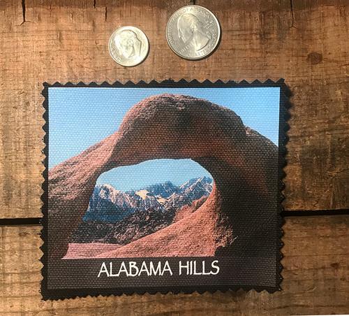 Alabama Hills Mobias Arch #909 Sew On Patch