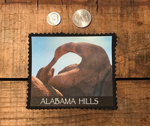 Alabama Hills Arch #907 Sew On Patch