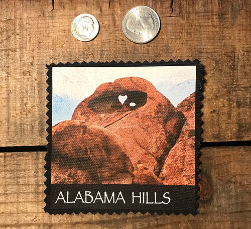 Alabama Hills Heart Arch #917 Sew On Patch