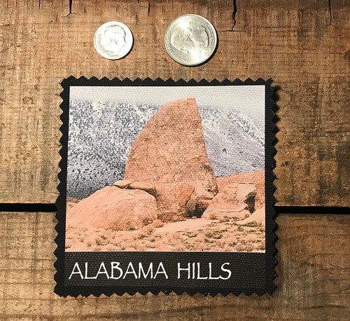 Alabama Hills Shark Fin #916 Sew On Patch