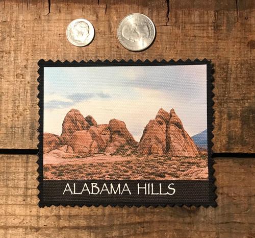 Alabama Hills Landscape #915 Sew On Patch