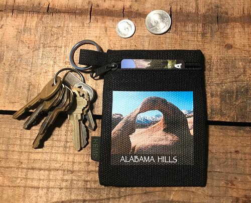 Alabama Hills Mobias Arch #908 Hemp Key Coin Purse Pouch