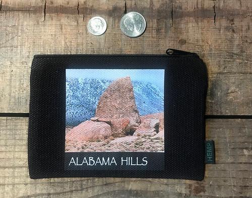 Alabama Hills Shark Fin #916 Medium & Large Hemp Coin Purse Pouch