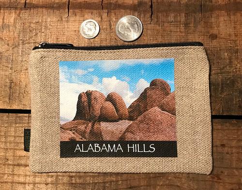 Alabama Hills #914 Medium & Large Hemp Coin Purse Pouch