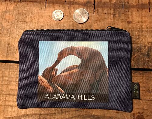 Alabama Hills Arch #907 Medium & Large Hemp Coin Purse Pouch