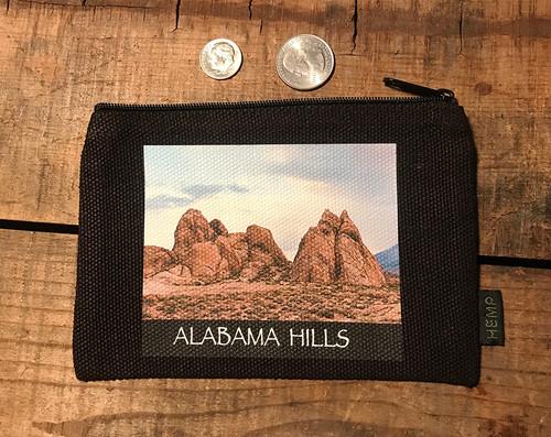 Alabama Hills Landscape #915 Medium & Large Hemp Coin Purse Pouch