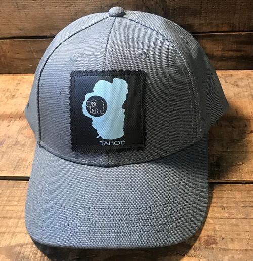 Lake Tahoe with Bear Hemp Baseball Hat