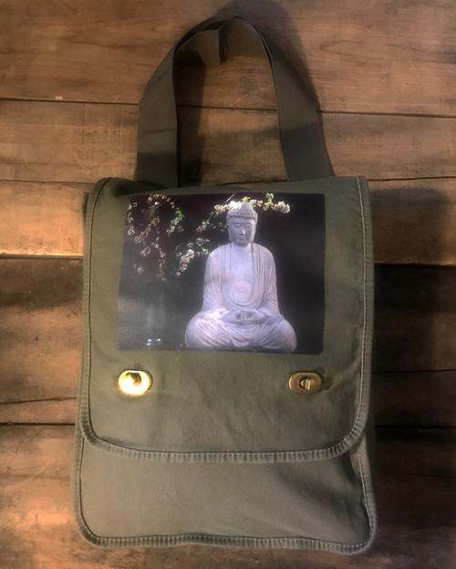 Buddha & Blossoms Field Bag