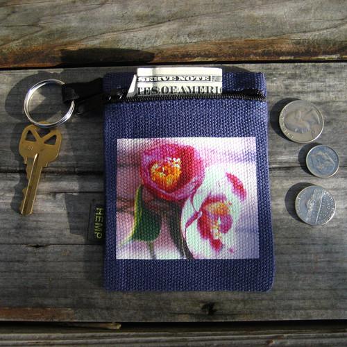 Camellia's Hemp Key Coin Purse