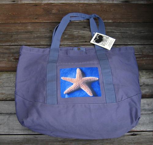 Starfish  Cotton Canvas Beach/Market Tote Bag